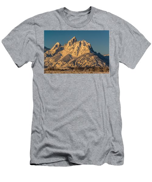 Winter At The Grand Men's T-Shirt (Slim Fit) by Yeates Photography