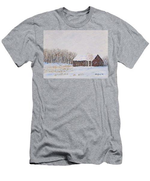 Winter Barn Men's T-Shirt (Athletic Fit)