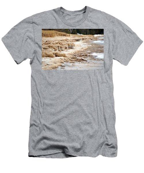 Winter Beach Men's T-Shirt (Athletic Fit)