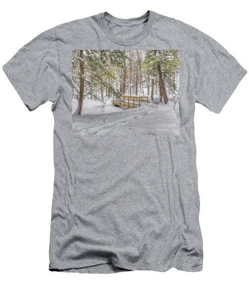 Winter Bridge Men's T-Shirt (Athletic Fit)