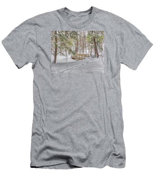 Winter Bridge Men's T-Shirt (Athletic Fit)