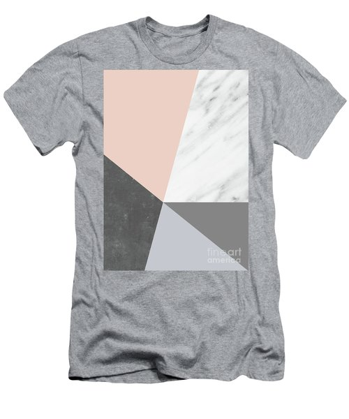 Winter Colors Collage Men's T-Shirt (Athletic Fit)