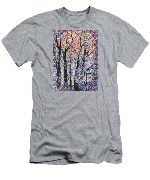 Winter Dawn  Men's T-Shirt (Athletic Fit)