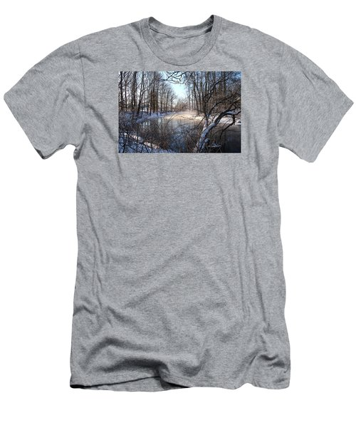 Winter Frost Men's T-Shirt (Athletic Fit)