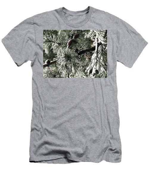 Winter Land  Men's T-Shirt (Athletic Fit)