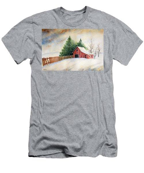 Winter Landscape IIi Men's T-Shirt (Athletic Fit)