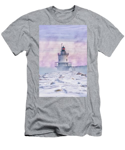 Winter Morning At Spring Point Ledge Men's T-Shirt (Athletic Fit)