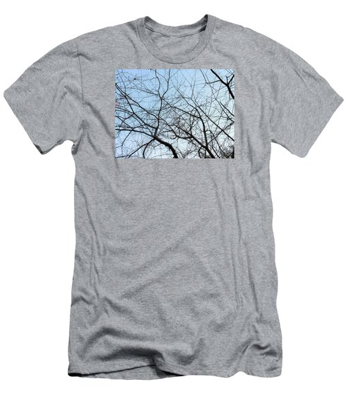 Men's T-Shirt (Slim Fit) featuring the photograph Winter Of Life by Kay Gilley