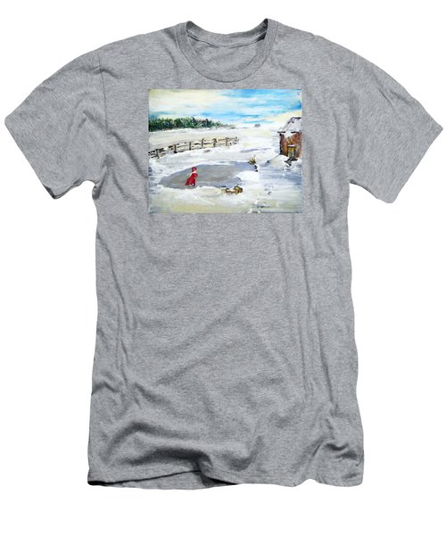 Winter Of Our Youth  Men's T-Shirt (Athletic Fit)