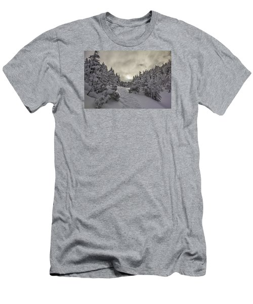 Winter On The Ammo Trail Men's T-Shirt (Athletic Fit)