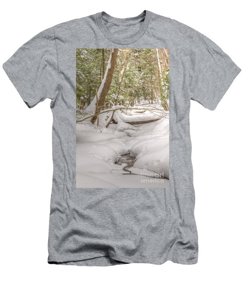Winter Serenity Men's T-Shirt (Athletic Fit)