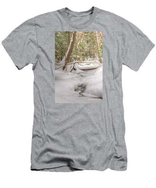 Winter Serenity Men's T-Shirt (Athletic Fit)