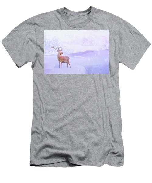 Winter Story Men's T-Shirt (Slim Fit) by Iryna Goodall
