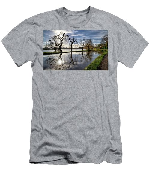 Winter Sun Men's T-Shirt (Slim Fit) by Shirley Mitchell