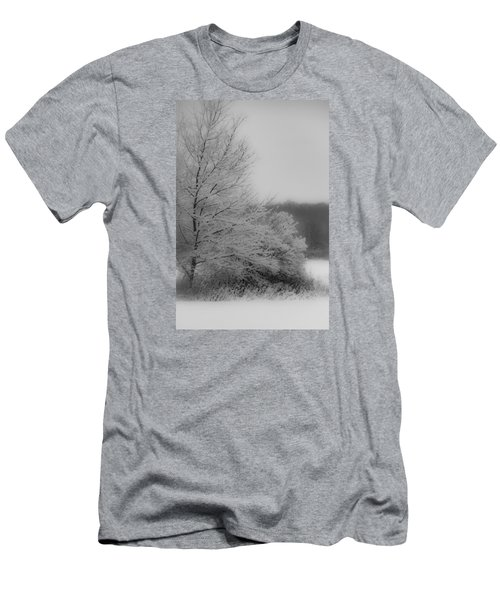 Winter Tree Men's T-Shirt (Athletic Fit)