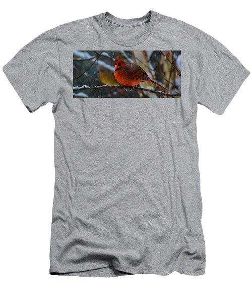 Winter Twosome  Men's T-Shirt (Athletic Fit)