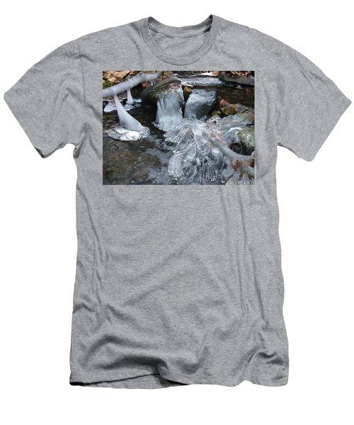 Winter Water Flow 4 Men's T-Shirt (Athletic Fit)