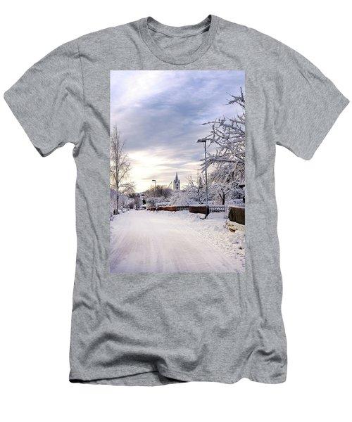 Winter Wonderland Redux Men's T-Shirt (Athletic Fit)
