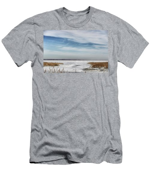 Winter Wonderland Men's T-Shirt (Slim Fit) by Tamera James
