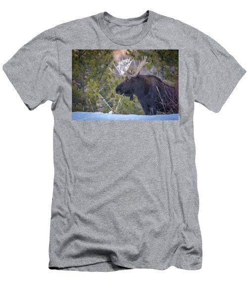 Winter's Arrival  Men's T-Shirt (Athletic Fit)