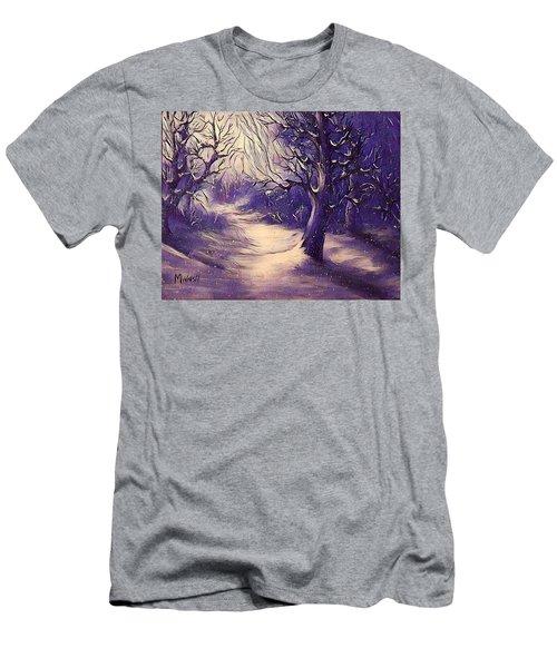 Winter's Beauty Men's T-Shirt (Athletic Fit)