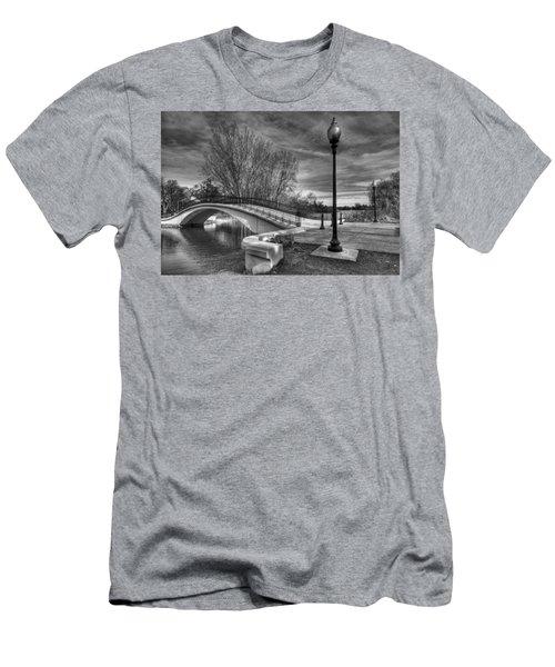 Winter's Bridge Men's T-Shirt (Slim Fit) by Rodney Campbell