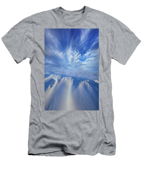 Men's T-Shirt (Slim Fit) featuring the photograph Winter's Hue by Phil Koch