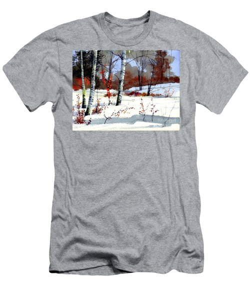 Wintertime Painting Men's T-Shirt (Athletic Fit)