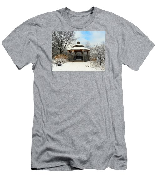 Men's T-Shirt (Slim Fit) featuring the photograph Wintertime by Teresa Schomig