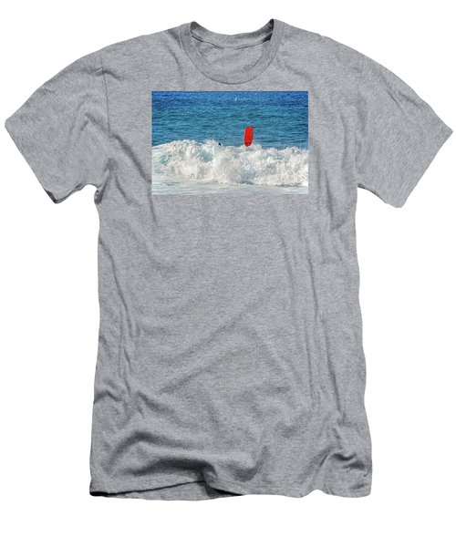 Men's T-Shirt (Slim Fit) featuring the photograph Wipe Out by David Lawson
