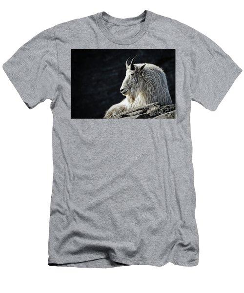 Wisdom From Up High Men's T-Shirt (Slim Fit) by Brad Allen Fine Art
