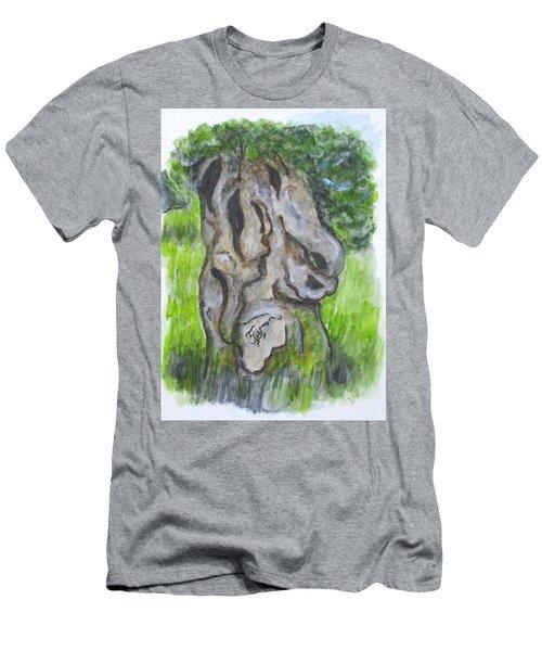 Wisdom Olive Tree Men's T-Shirt (Athletic Fit)