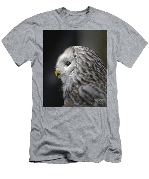 Wise Old Owl Men's T-Shirt (Slim Fit) by Kathy Baccari