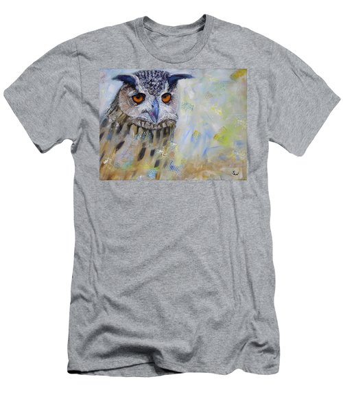 Wise Owl Men's T-Shirt (Athletic Fit)