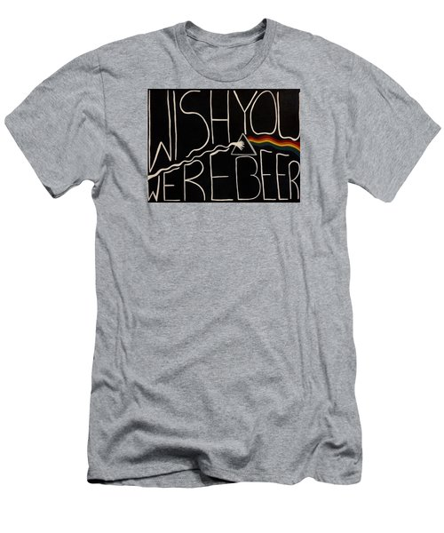 Wish You Were Beer Men's T-Shirt (Athletic Fit)