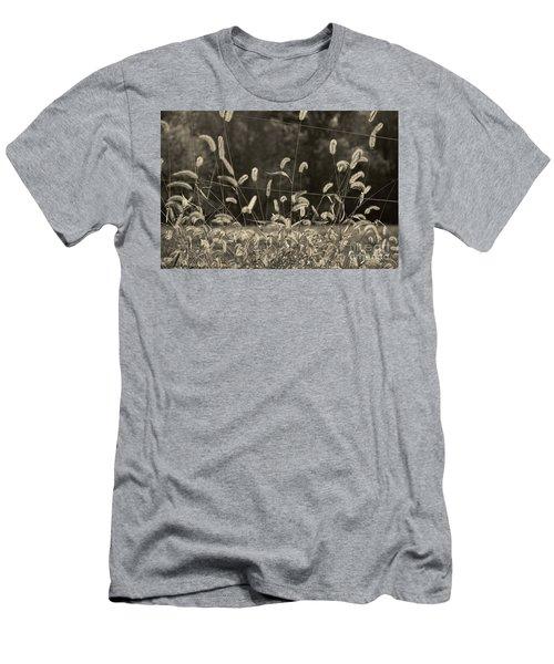 Wispy Men's T-Shirt (Slim Fit) by Joanne Coyle
