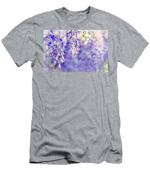 Wisteria Watercolor Men's T-Shirt (Athletic Fit)