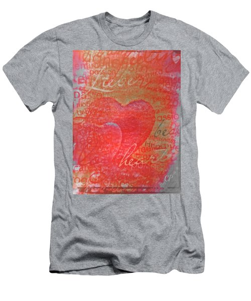 With Heart Men's T-Shirt (Athletic Fit)