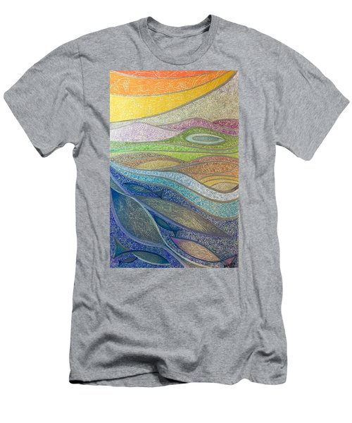 With The Flow Men's T-Shirt (Athletic Fit)