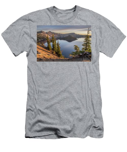 Wizard Island Beauty Men's T-Shirt (Athletic Fit)