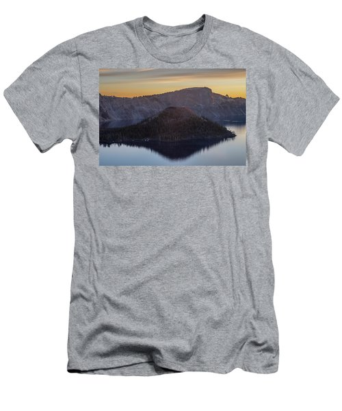 Wizard Island Morning Men's T-Shirt (Athletic Fit)