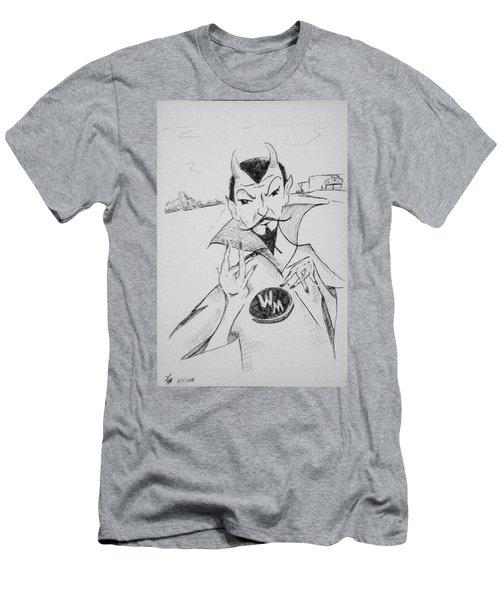 Wm Blue Devils Sign Men's T-Shirt (Athletic Fit)