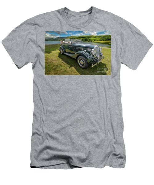 Men's T-Shirt (Slim Fit) featuring the photograph Wolseley Classic Car by Adrian Evans