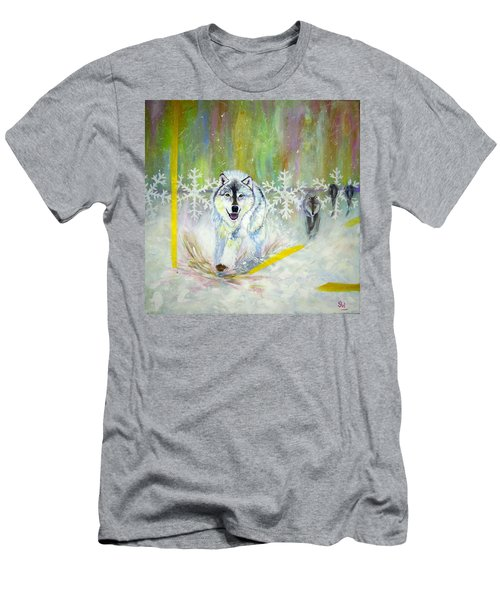 Wolves Approach Men's T-Shirt (Athletic Fit)