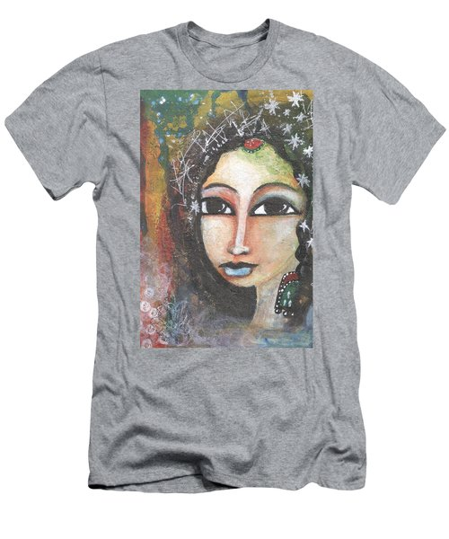 Woman - Indian Men's T-Shirt (Athletic Fit)