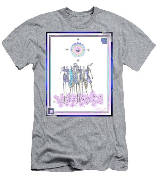 Women Chanting - Pink Full Moon 2017 Men's T-Shirt (Athletic Fit)