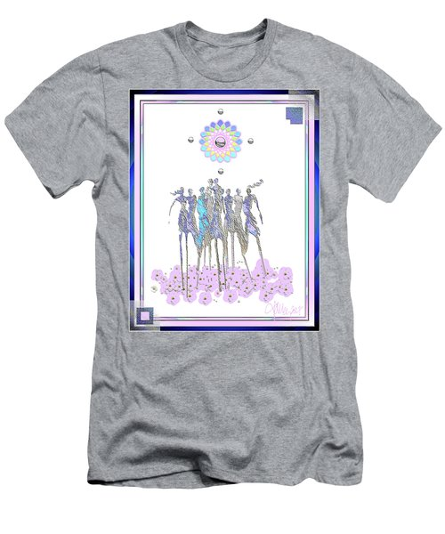 Women Chanting - Pink Full Moon 2017 Men's T-Shirt (Athletic Fit)