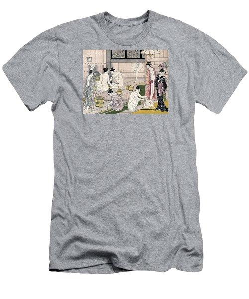 Women's Bathhouse Men's T-Shirt (Athletic Fit)