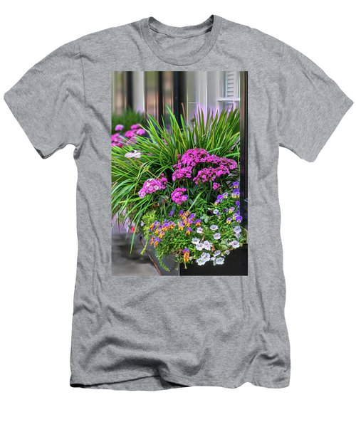 Wonderful Window Boxes Of Charleston Men's T-Shirt (Athletic Fit)