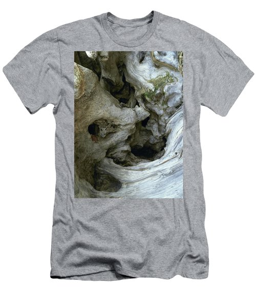 Wood Abstract Men's T-Shirt (Athletic Fit)